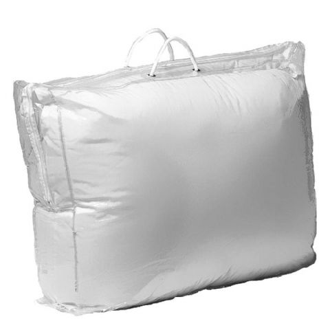 Optic Clear Plastic Duvet Storage & Carry Bag 60cm